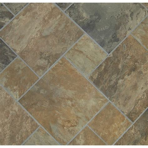 sedona slate cedar glazed porcelain tiles size 6x6 and 12x12 love the pattern and color for my