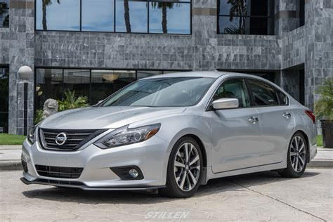 2016 nissan altima custom 2016 altima front splitter and rear diffuser nissan
