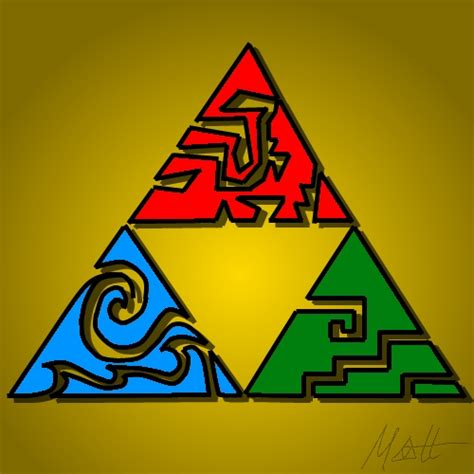 triforce colors the triforce by redfred92 on deviantart