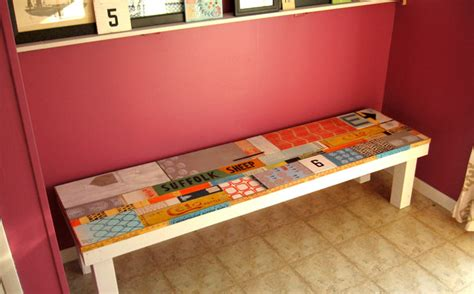 diy reclaimed wood bench reclaimed wood bench eclectic entry milwaukee by erin lang norris