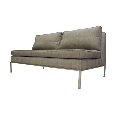 Sofa Settee Or stunning harvey probber two seat settee sofa or loveseat at 1stdibs
