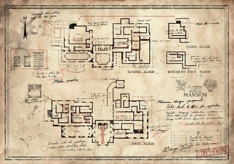 Dishonored 2 Stilton Manor Third Floor - looking for a convincing floor plan for a heist look no