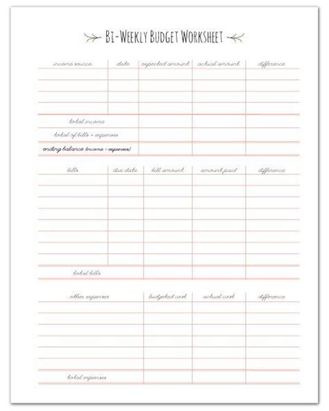 printable weekly planner worksheets finance planners finance home management binder and i