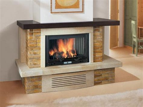 Corner Fireplace Surrounds by Decorate Your Home With A Corner Fireplace Mantel