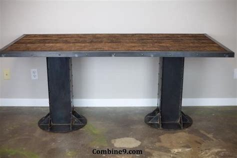 Reclaimed Wood Sit Stand Desk by Buy A Custom Made Sit Stand Desk Adjustable Height Sit
