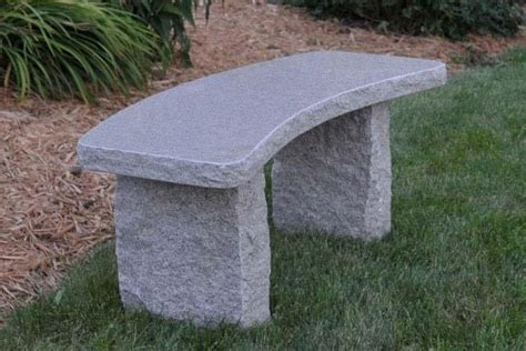 curved stone bench janika home hardware landscaping fabric