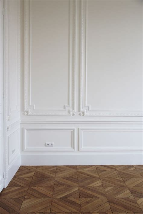 White Wall Panel Moulding Paneling And Beautiful Flooring Wood Panelling