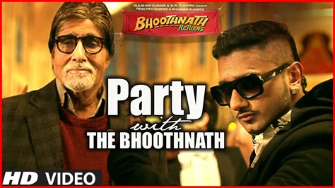 song honey singh with the bhoothnath song official bhoothnath