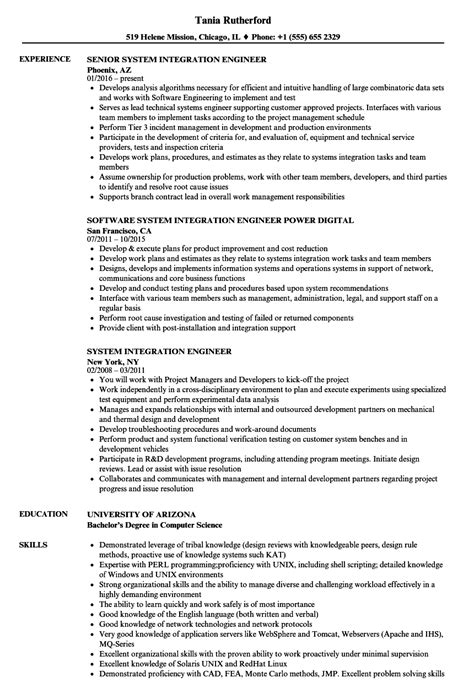 Process Integration Engineer Cover Letter by Process Integration Engineer Sle Resume Principal Electrical Engineer Sle Resume