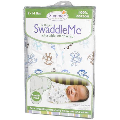 Summer Swaddle Me summer infant swaddleme adjustable infant wrap small