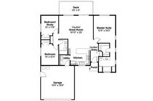 superior Open Kitchen Floor Plans Pictures #4: ranch_house_plan_tyson_30-495_flr.jpg