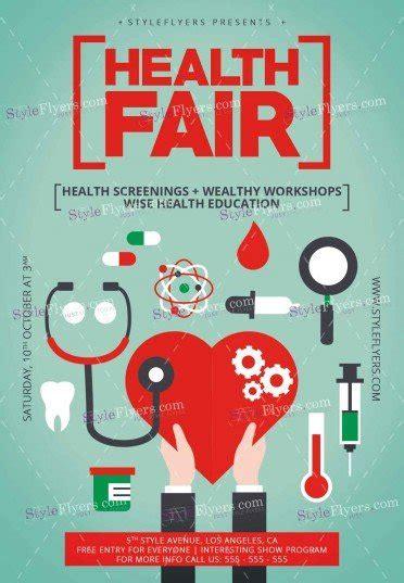 Health Fair Psd Flyer Template 11992 Styleflyers Health Fair Flyer Template Free