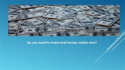 How To Make Real Money Online Now - make real money online