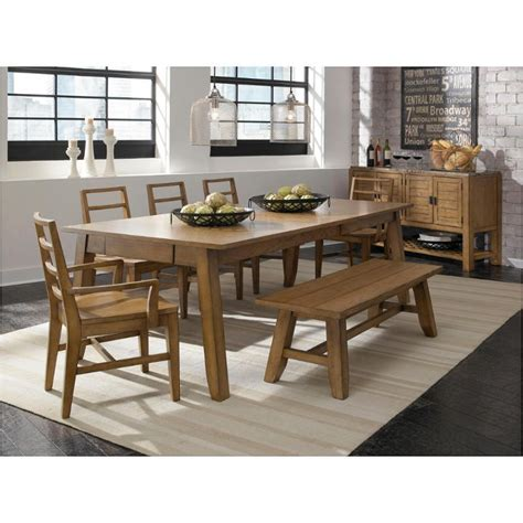 Broyhill Farmhouse Dining Table 4333 532 Broyhill Furniture Ember Grove Leg Dining Table