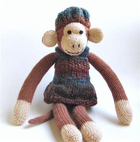 monkey knitting 1000 images about knitting animals monkeys on