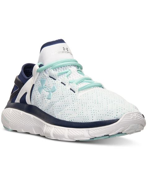 Armor Speedfrom Run armour s speedform fortis running sneakers from finish line in green lyst