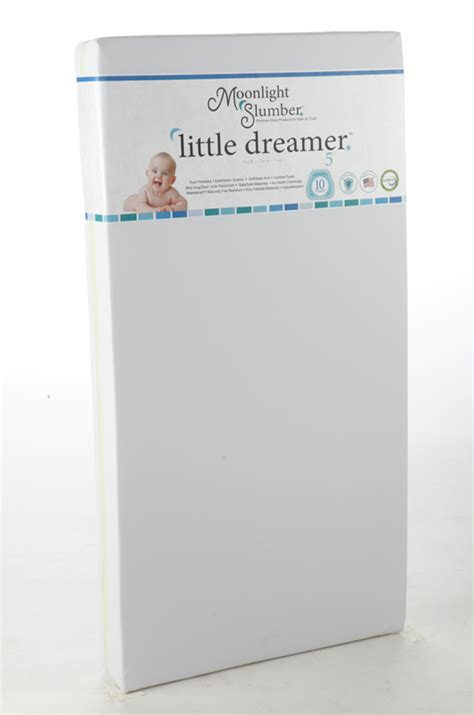 Little Dreamer Foam Crib Mattress By Moonlight Slumber Moonlight Slumber Dreamer Crib Mattress