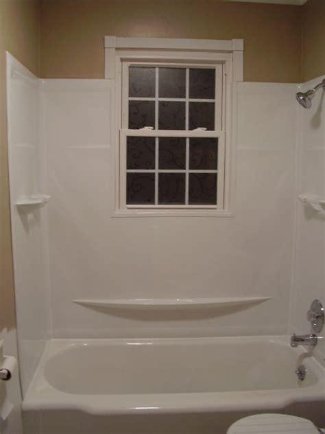 bathtub surround with window bathtub surround with window 28 images diy how to trim waterproof a bathtub window
