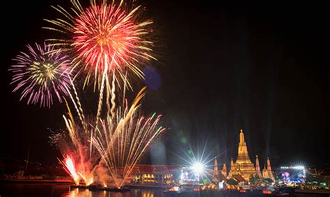 when is new year in thailand 2016 thailand staged 2016 new year s countdown at wat arun