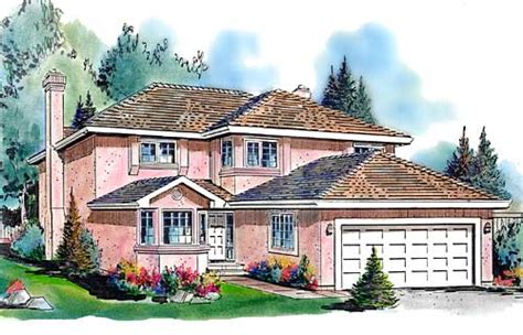 southwestern house plan 4 bedrooms 2 bath 1940 sq ft