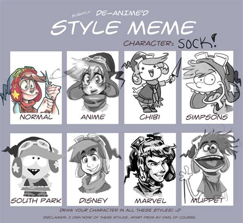 Meme Hairstyles - style meme sock by real faker on deviantart