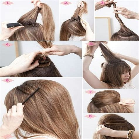quick and easy hairstyles instructions quick and easy hairstyle tutorials