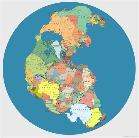 forgotten continent a history of the new america books a new map of supercontinent pangea with today s countries
