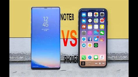 Samsung Note 8 Vs Iphone 8 Plus Samsung Galaxy Note 8 Vs Iphone 8 Comparison