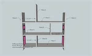 Bookcase Dollhouse Plans Free Home Plans Dollhouse Bookshelf Plans
