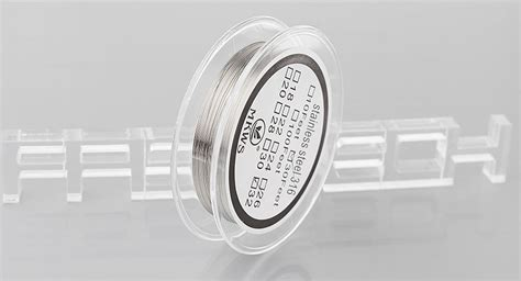 Stainless Steel 304 Wire 26 Awg Ss Kawat Not Kanthal For Vaporizer 1 2 30 authentic mkws 316 stainless steel resistance wire for rebuildable atomizers 32 awg 0