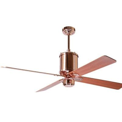 Machine Age Polished Copper Ceiling Fan This Will Be My