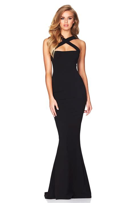 Dress Viva2 by Black Viva 2 Way Gown Buy Designer Dresses At Nookie