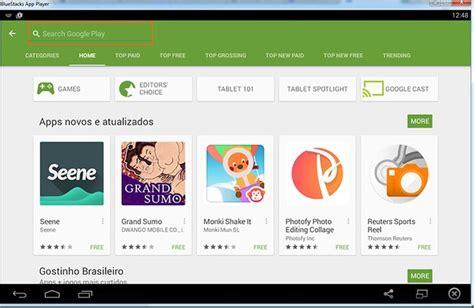 bluestacks google play store ecm inform 225 tica como baixar a google play store e apps de