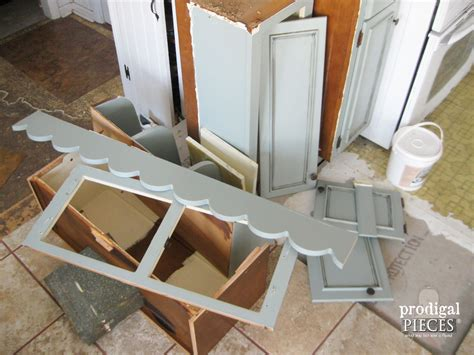 kitchen cabinet pieces repurposed kitchen cabinets into home decor prodigal pieces