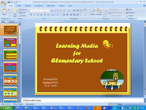 contoh membuat power point untuk presentasi media pembelajaran bahasa inggris listening and speaking