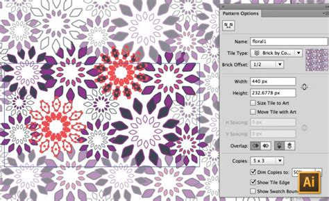 make repeating pattern adobe illustrator creating repeating textile patterns in illustrator cs6