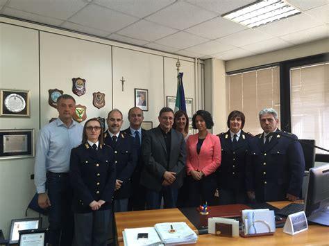 sedi polizia postale regione calabria marziale ha visitato il compartimento