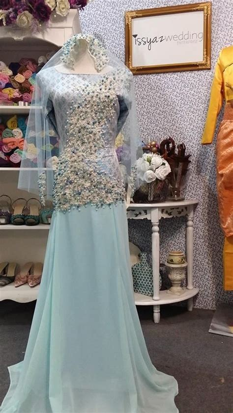 Baju Pengantin Wedding Dress Clwd164 baju pengantin songket terbaru 2015 wedding dress wedding dress wedding and