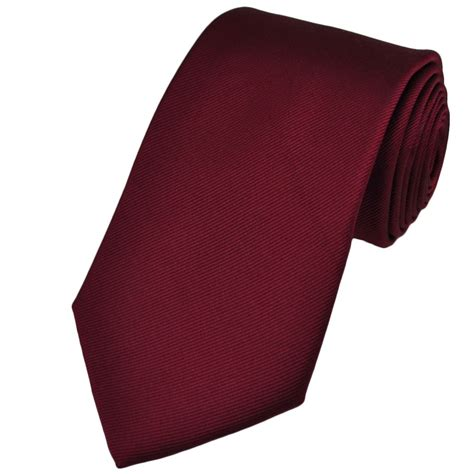 plain burgundy silk tie from ties planet uk