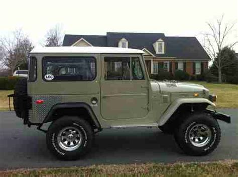 1971 Toyota Land Cruiser Sell Used 1971 Toyota Land Cruiser Fj40 In Gordonsville