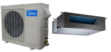 trane mini midea 12000 btu 15 seer bomba de calor mini canalizada