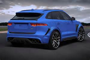 Jaguar Kit Jaguar F Pace Gets Widebody Kit And 24 Inch Wheels From