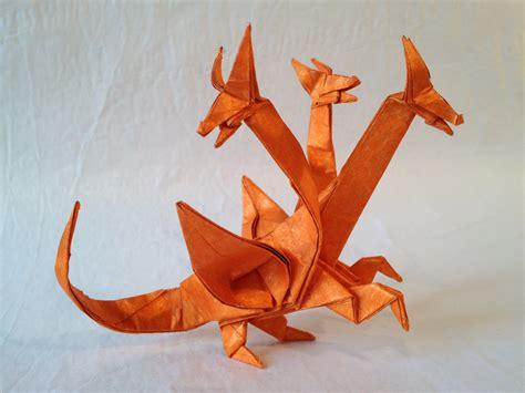 Origami Three Headed - 3 headed 171 friesen folding