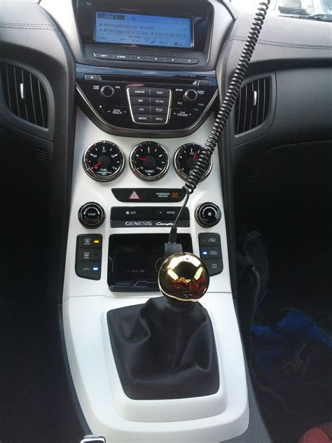2013 Hyundai Genesis Coupe Shift Knob by Genesis 2013 Shifter Knob Remplacement Page 6 Hyundai