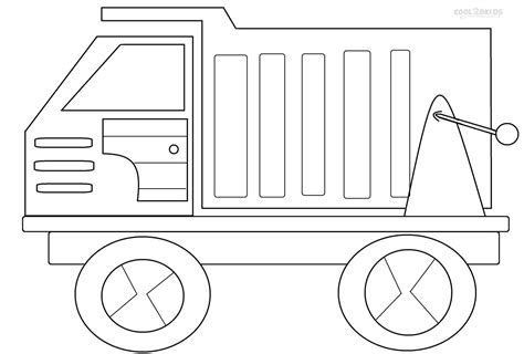 printable coloring pages dump truck printable dump truck coloring pages for kids cool2bkids