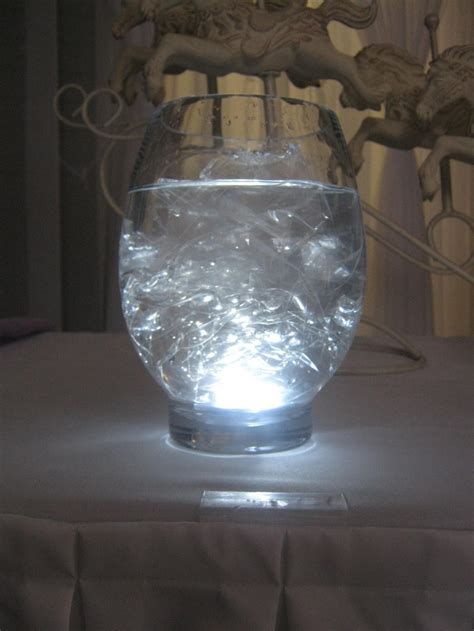 Water Lights For Vases by I Did This Without The Submersible Light Cylinder Vases