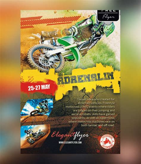 Download 25 Free Sports Flyers Templates Ginva Bike Flyer Template Free
