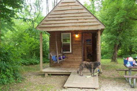 Allegheny National Forest Cabins by The Swimming Lake At The Park Area Of