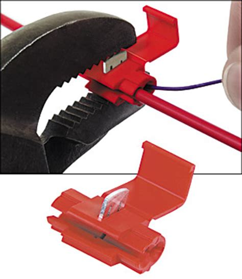 suitcase connectors idc  red pkg    micro