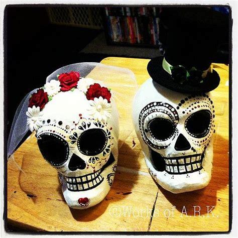 Dia De Los Muertos Sugar Skull Wedding